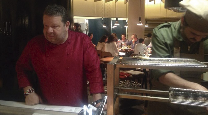 Alberto chicote abre nuevo restaurante en madrid yakitoro - Parrillas argentinas en barcelona ...